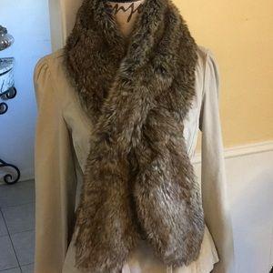 BCBC faux fur scarf, stole, collar